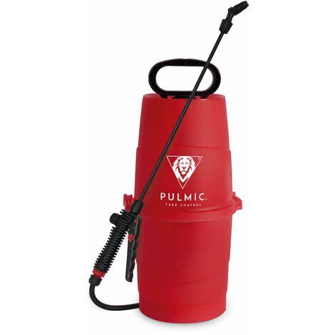 PULMIC Pulverizador Agua Raptor 7. Presión Manual Presión Previa. Pulverizador Herbicidas, Insecticidas y Fungicidas. Lanza en fibra de vidrio. Capacidad hasta 7 litros. Con bomba. Boquilla regulable. Válvula de seguridad.