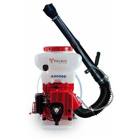 PULMIC Pulverizador Industrial Taurus Air+ Portátil. Sulfatadora Mochila de 14L. Motor de 2T. Bomba Impulsora Doble Pistón. Uso Vertical y Horizontal. Atomizador de gasolina