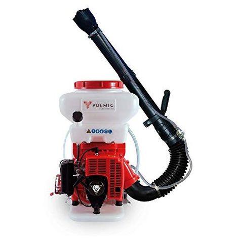 Pulmic Taurus Air + Pulverizador neumático motorizado 14 litros, Rojo y Blanco