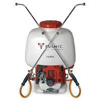 Pulmic Taurus Pulverizador hidráulico motorizado, 25 litros, Rojo y Blanco