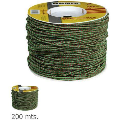 Pulpo De Goma 7 mm. Diámetro (Bobina 200 metros)