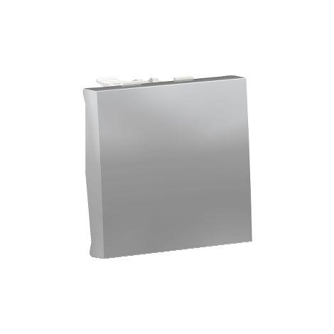Pulsador 2 mod NC Aluminio SCHNEIDER ELECTRIC NU323630