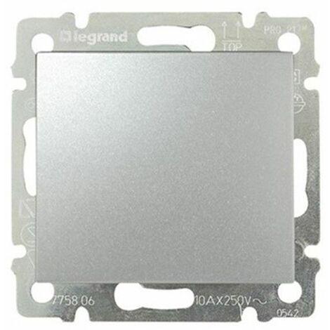 """main image of """"Pulsador Aluminio Brillante Legrand Valena 770111"""""""