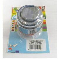 Pulsador Cisterna Descarga Simple Cr S M