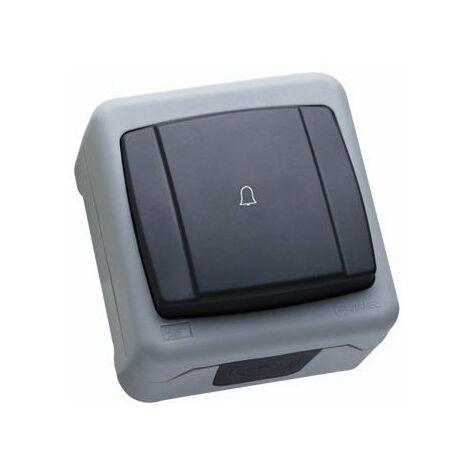 Pulsador con Símbolo Campana Superficie Makel IP55 36064150