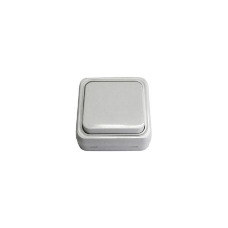 Pulsador de superficie blanca BF 18 (Bricofontini 18 310 05 2)