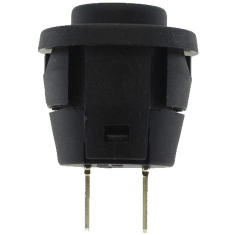 Pulsador empotrable OFF-ON Tecla Negro Contactos Plata Electro DH 11.525/N/P 8430552053933