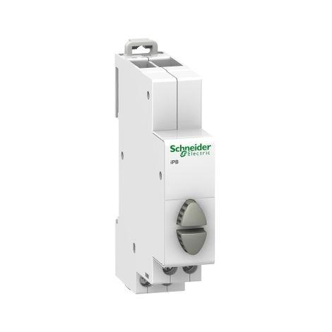 Pulsador iPB 1NO-1NO doble gris/gris SCHNEIDER ELECTRIC A9E18035