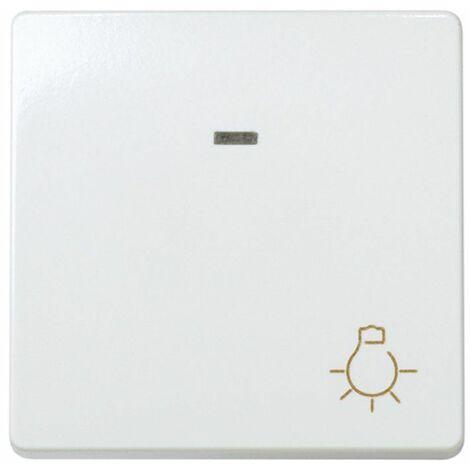 Pulsador luz ancho con luminoso Simon 27 Play Blanco