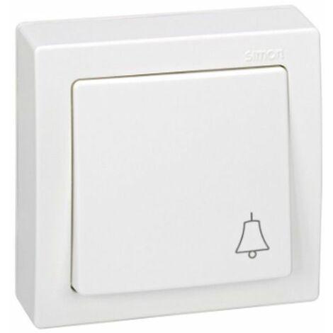 Pulsador monobloc campana blanco Simon73 Loft 73150-50