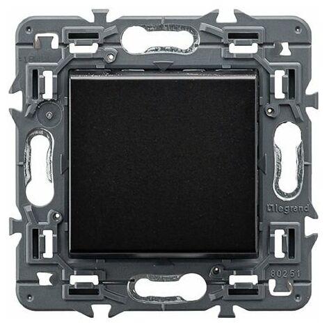 Pulsador negro 230V Legrand Valena Next 741450