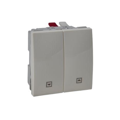 Pulsador persianas 2 mod Unica Marfil SCHNEIDER ELECTRIC U3.207.25