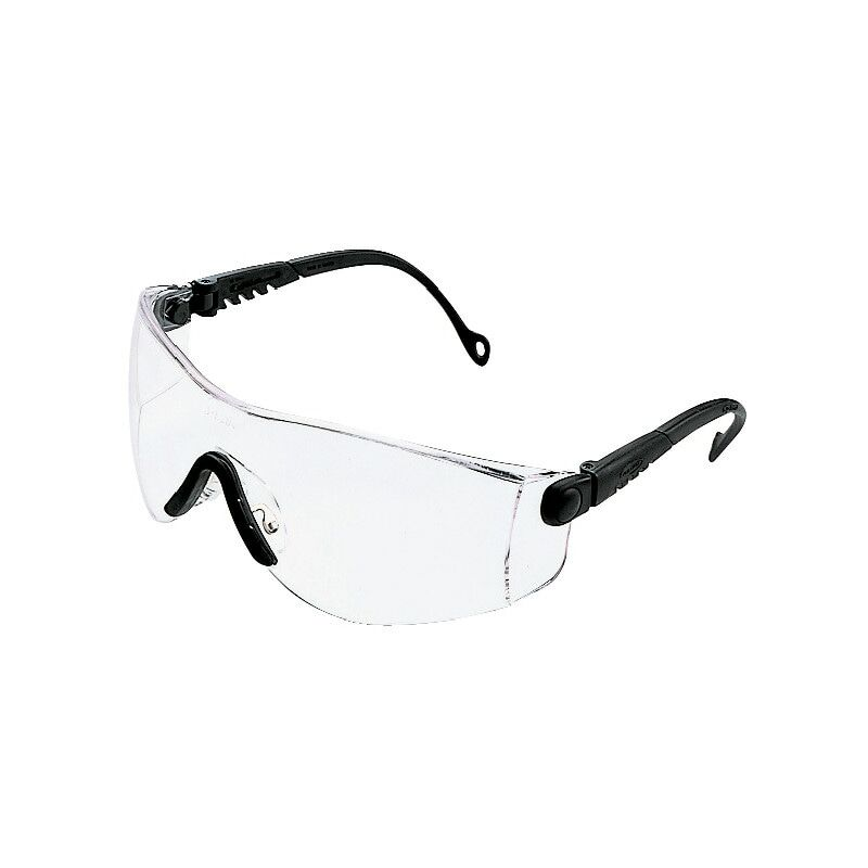 Image of 1000016 Op-Tema Black Frame Clear Lens Eyeshield - Honeywell