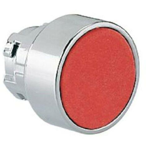 Pulsante rasato LOVATO ad impulso serie 8LM foro 22mm rosso 8LM2TB104