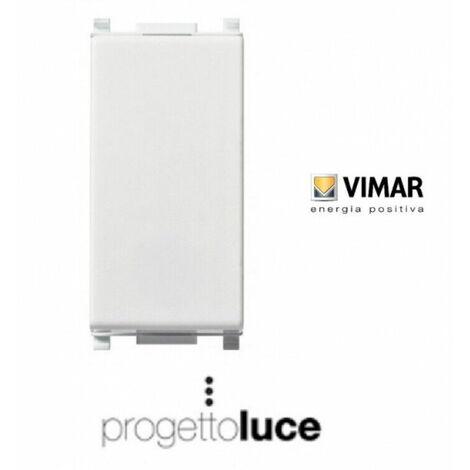 Pulsante vimar plana 1p no 10a 14008 interruttore illuminazione impianto luce
