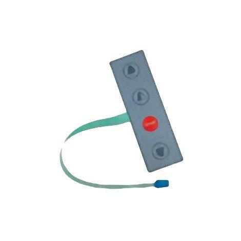 PULSANTIERA OPZIONALE X E1T A 4 TASTI DITEC PT4 APRE-APRE PARZIALE-CHIUDE-STOP
