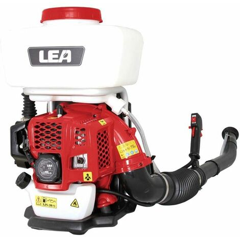 Pulvérisateur à dos atomiseur thermique 43 cm3 14 litres LEA LE87427 poudre et liquide