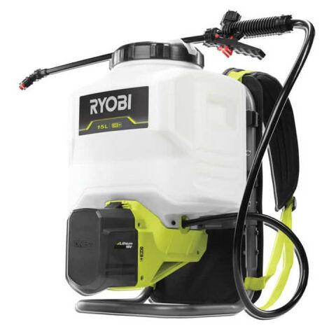 Pulvérisateur à dos RYOBI 18V One Plus 15L - 3,8 bars - Sans batterie ni chargeur - RY18BPSA-0