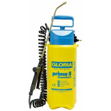 Pulvérisateur à pression Prima 5 Comfort avec tuyau spirale 2,5m - 5L