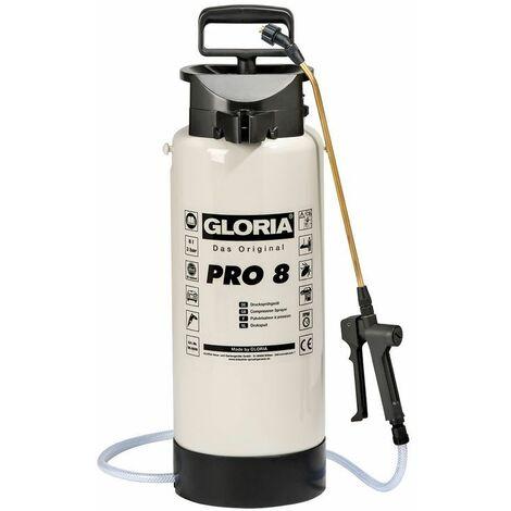 Pulvérisateur à pression PRO 8 pour produits chimiques, hydrosolubles - 8L