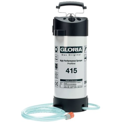 Pulvérisateur d'alimentation d'eau en acier Type 415 - 10L