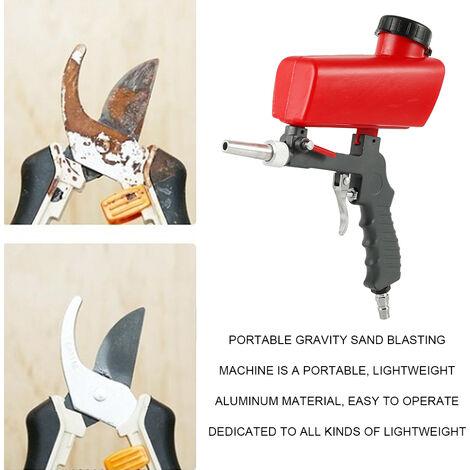 Pulvérisateur de verre de sableuse antirouille tenu dans la main de sableuse de médias de Blaster de soude de pistolet de sableuse portatif professionnel