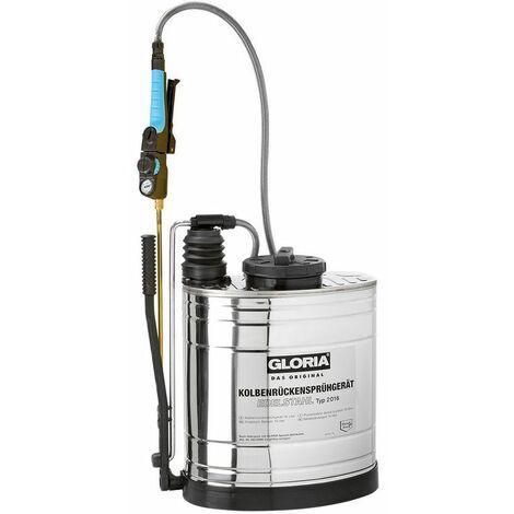 Pulvérisateur dorsal à piston en acier inoxydable type 2016 - 16 L