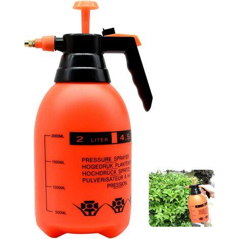 """main image of """"Pulvérisateur haute pression 2L avec buse en laiton réglable, atomiseur à pompe de haute qualité (2L adapté aux plantes de la maison et du jardi"""""""