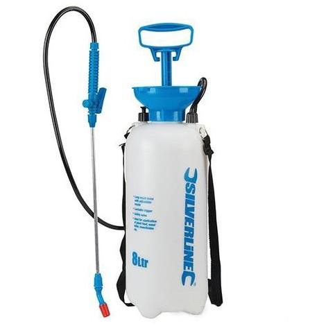 Pulvérisateur manuel 8 L à pression réglable - 868593 - Silverline - -