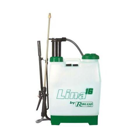 Pulvérisateur pro à pression préalable 17 Litres - lance laiton et buse laiton
