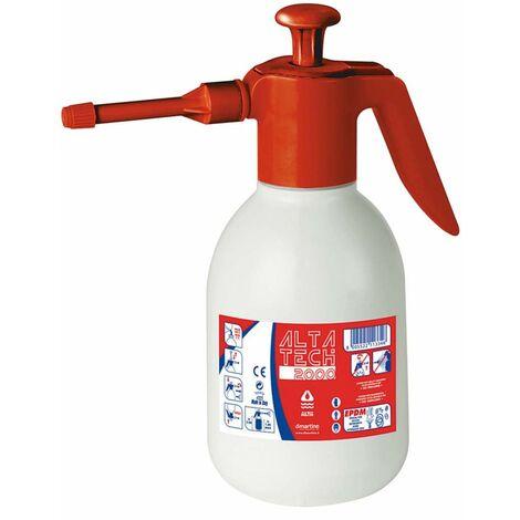 Pulverizador 2 litros, presión máxima 2 bares