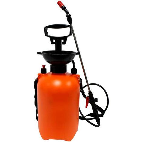 Pulverizador 5L LITROS Fumigador a Presión para Fumigar, Desinfectar, Limpiar, Jardín - Correa Ajustable para Colgar