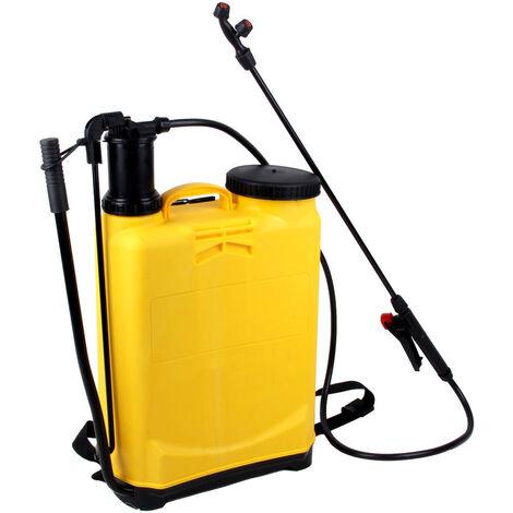 Pulverizador de mochila de 16 litros, pulverizador a presión con accesorios