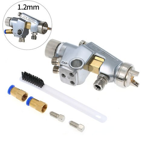 Pulverizador de pintura de 1,2mm, pulverizacion automatica de alimentacion a presion