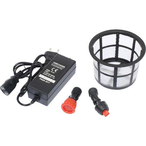 Pulverizador de Presion 16L, 12V, 8A, 2 en 1- Bateria / Manual - c/ regulador - Mac Power