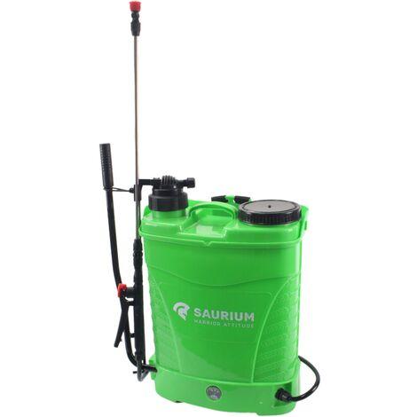 Pulverizador de Presión 2 en 1, Manual y Batería, 16L - SAURIUM®