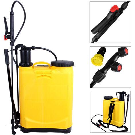 Pulverizador de presión de mochila de jardín de 16,8 L - Tanque de soportes de pulverización de jardín