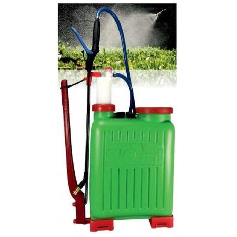 Pulverizador FLOR AL 15 L de plástico de uso profesional para aplicación de fitosanitarios - Verde
