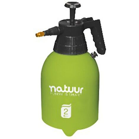 Pulverizador Jardin Presion Retenida Boquilla Regulable 2Lt Verde Natuur Nt99254