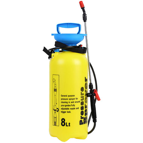 Pulverizador manual, atomizador de riego por aspersion, 8L