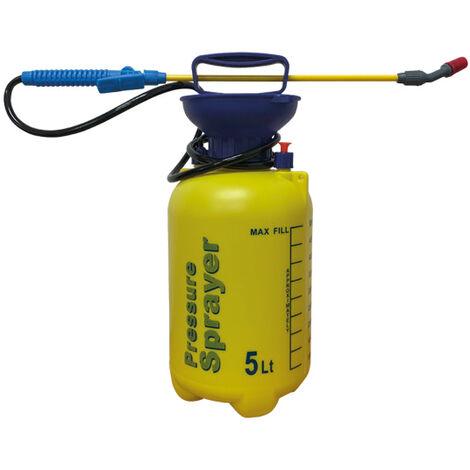 Pulverizador Manual, Capacidad 5 litros - Bricoferr