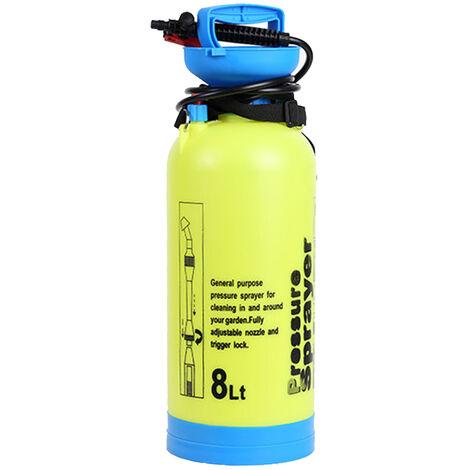 Pulverizador manual de 8L, pulverizador de riego, atomizador de lata de aspersion, con valvula de alivio de presion