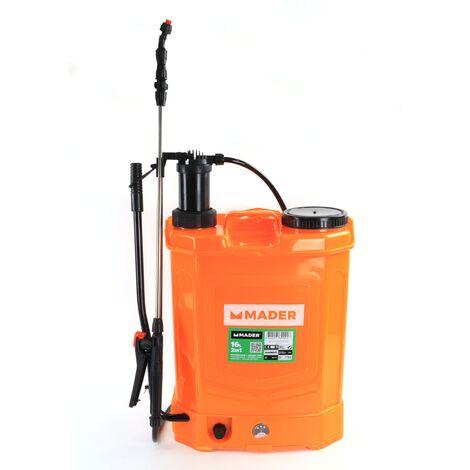 Pulverizador Manual y Batería Litio, 16L - MADER® | Garden Tools