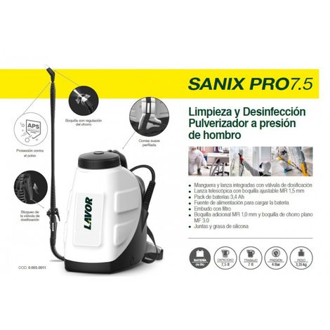 Pulverizador SANIX PRO7.5