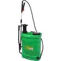 Pulverizador sulfatador automático y manual de mochila 16 litros (Mac Power 66007)