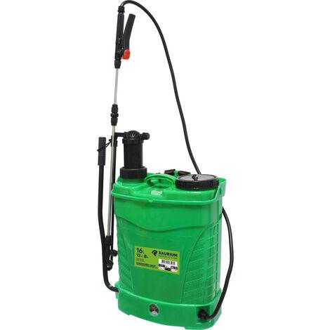 Pulverizador sulfatador automático y manual de mochila 16 litros (Saurium 48523)