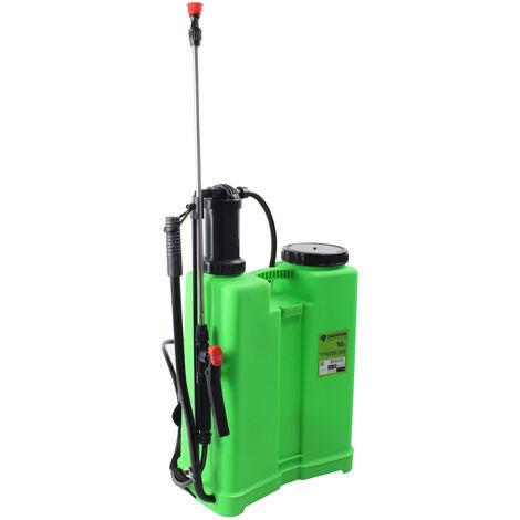Pulverizador sulfatador de mochila manual a presión 16 litros (Mac Power 66270)
