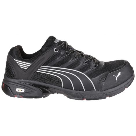 Puma Safety Fuse Motion Red Mens Safety Trainers (40 EUR) (Black)