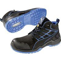 PUMA Safety Krypton Blue Mid 634200 47 Chaussures montantes de sécurité ESD S3 Taille: 47 noir, bleu 1 paire