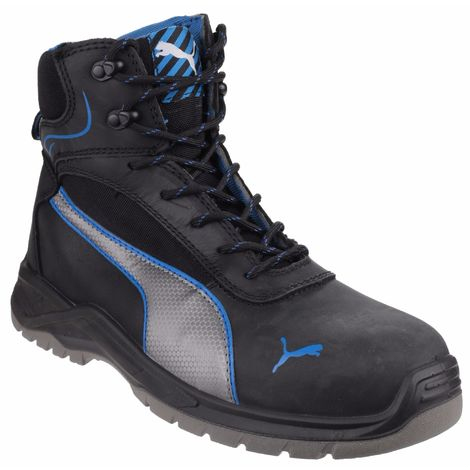 Puma Safety Mens Atomic Mid Water Resistant Lace Up Safety Boot